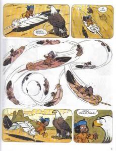Extrait de Yakari -1c2000- Yakari et Grand Aigle