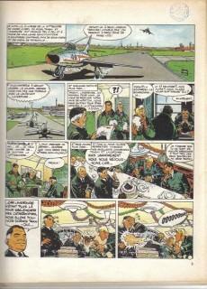 Extrait de Tanguy et Laverdure -4a78- Escadrille des cigognes