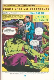 Extrait de Les défenseurs (1re série - Arédit - Artima Color Marvel Super Star) -8- Drame chez les Défenseurs