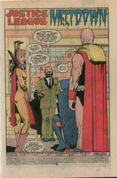 Extrait de Justice League (1987) -3- Meltdown