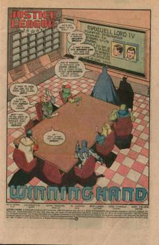 Extrait de Justice League (1987) -4- Winning hand