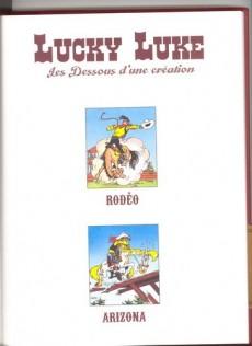 Extrait de Lucky Luke - Les Dessous d'une création (Atlas) -33- Rodéo / Arizona