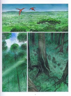 Extrait de Les tours de Bois-Maury -15- Œil de ciel