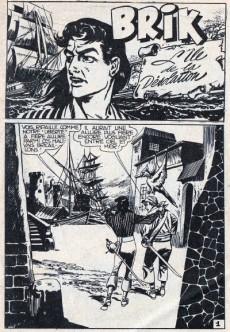 Extrait de Brik (Mon journal) -146- L'île de la désolation