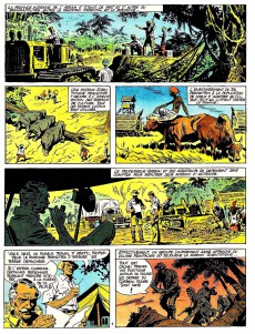 Extrait de Paul Foran (édition pirate) -7- Les démons de la jungle