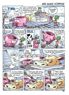 Extrait de Frigo -1- Tête de veau & vinaigrette