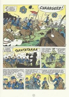 Extrait de Les tuniques Bleues -11b1986- Des bleus en noir et blanc