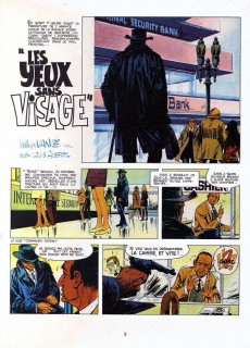 Extrait de Bruno Brazil -3a1973- Les yeux sans visage