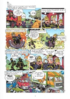 Extrait de Les pompiers -9col- Feu à volonté !: album collector 10 ans christophe cazenove