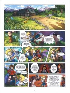 Extrait de Les légendaires - Origines -1- Danaël