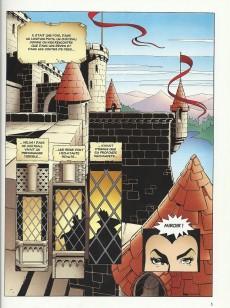 Extrait de Les classiques du dessin animé en bande dessinée -5- Blanche Neige et les Sept Nains