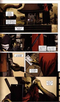 Extrait de 5 Ronin - La Voie du samouraï