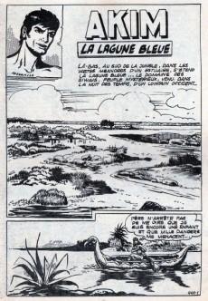 Extrait de Akim (1re série) -441- La lagune bleue