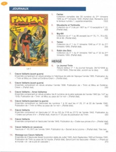 Extrait de (Catalogues) Ventes aux enchères - Tajan - Tajan - samedi 29 novembre 2003 - Paris espace Tajan