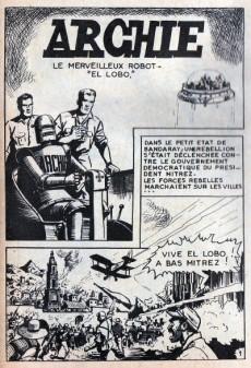 Extrait de Archie (Le merveilleux robot) -7- El Lobo