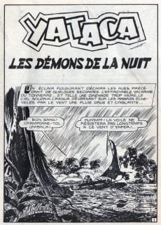 Extrait de Yataca (Fils-du-Soleil) -26- Les démons de la nuit