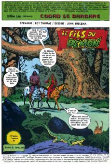 Extrait de Conan le barbare (2e série - Arédit - Arédit Marvel Color) -2- Le fils du démon