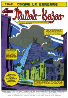 Extrait de Conan le barbare (2e série - Arédit - Arédit Marvel Color) -4- Les cachots de Mullah-Kajar