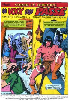 Extrait de Conan le barbare (2e série - Arédit - Arédit Marvel Color) -5- La voix du passé