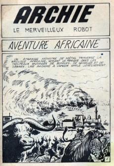 Extrait de Archie (Le merveilleux robot) -9- Aventure africaine