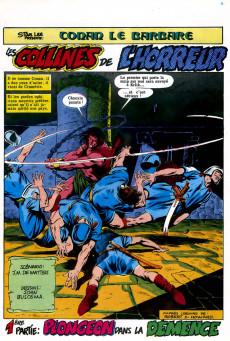 Extrait de Conan le barbare (2e série - Arédit - Arédit Marvel Color) -7- Les collines de l'horreur