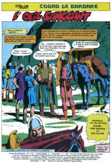 Extrait de Conan le barbare (2e série - Arédit - Arédit Marvel Color) -8- L'œil sanglant