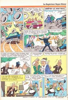 Extrait de (Recueil) Tintin Super -R4- Reliure Super Tintin n°32 Super Rieur, n°33 Jungle, n°34 Sport, n°35 Insolite