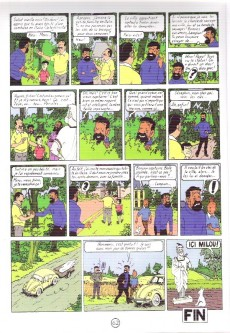 Extrait de Tintin - Pastiches, parodies & pirates -19c2011- Tintin et l'alph-art