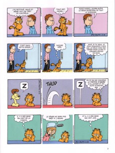 Extrait de Garfield -54- Le dindon de la farce