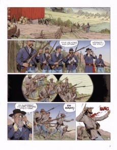 Extrait de Blueberry (La Jeunesse de) -20- Gettysburg