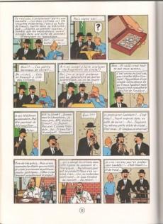 Extrait de Tintin (Study Comics - del Prado) -1- Les 7 boules de cristal