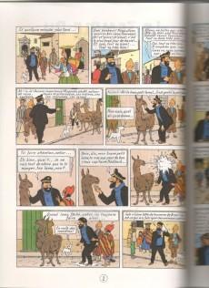 Extrait de Tintin (Study Comics - del Prado) -2- Le temple du soleil
