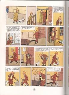 Extrait de Tintin (Study Comics - del Prado) -3- Le Crabe aux pinces d'or