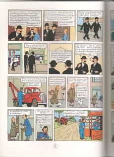 Extrait de Tintin (Study Comics - del Prado) -4- Au pays de l'or noir