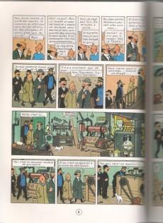 Extrait de Tintin (Study Comics - del Prado) -7- Le trésor de Rackham le Rouge