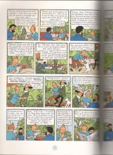 Extrait de Tintin (Study Comics - del Prado) -10- Tintin au Tibet