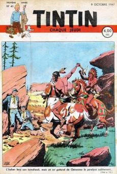 Extrait de (Recueil) Tintin (Album du journal - Édition belge) -16- Tome 16
