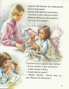 Extrait de Martine -26b- Martine est malade