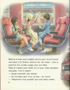 Extrait de Martine -28a- Martine prend le train