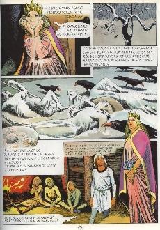 Extrait de La mémoire des Celtes -1- Les navigations de Mael Duin