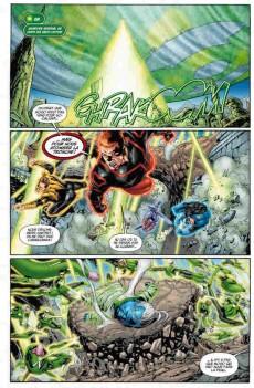 Extrait de Green Lantern Showcase -2- La conclusion de la guerre des Green Lantern