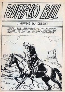 Extrait de Buffalo Bill (Jeunesse et Vacances) -11- L'Homme du désert