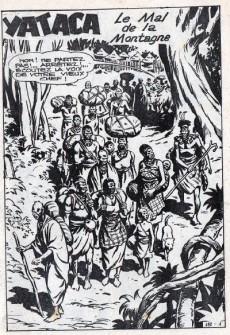 Extrait de Yataca (Fils-du-Soleil) -182- Le mal de la montagne
