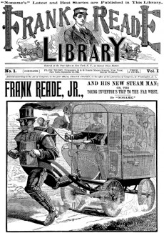 Extrait de Frank Reade - Frank Reade, Adventures in the Age of Invention