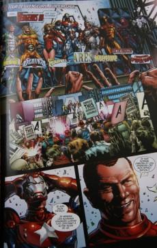 Extrait de Dark Avengers (Marvel Deluxe) -1- Les vengeurs noirs
