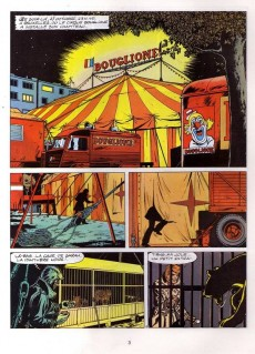 Extrait de Ric Hochet -25c97- Coups de griffes chez Bouglione
