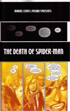 Extrait de Ultimate Spider-Man (2009) -INT04- Death of Spider-Man