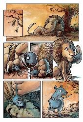 Extrait de Poèmes en bandes dessinées -a- Jean de La Fontaine en bandes dessinées