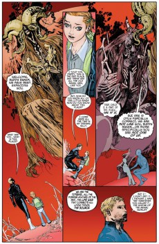 Extrait de Animal Man (2011) -INT01- The Hunt