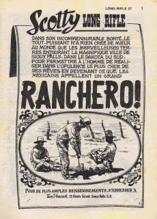 Extrait de Long Rifle -27- Ranchero !